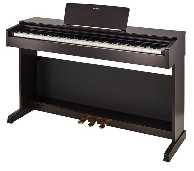 3 Yamaha Ydp 143 R Arius This Digital Piano Gives You The Full Sensation Of An Acoustic Piano Because It Looks Lik Digital Piano Piano Best Digital Piano