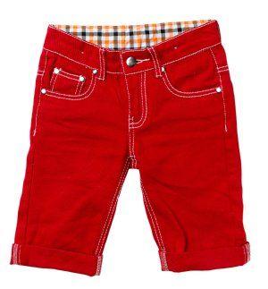 Havoc Denim Red Santiago Shorts