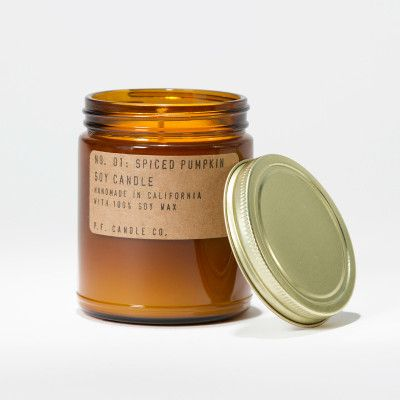 No. 1 Spiced Pumpkin Soy Candle  from LET LIV