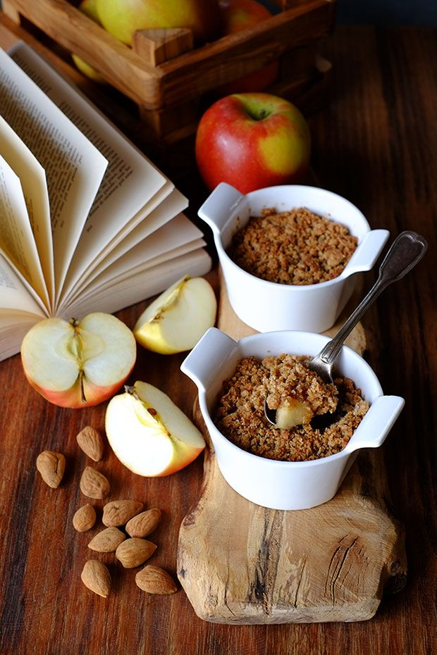 Crumble di mele con burro di mandorla - GranoSalis - Blog di cucina naturale e consapevole