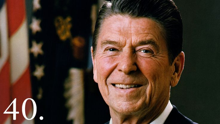 "Ronald Reagan, originally an American actor and politician, became the 40th President of the United States serving from 1981 to 1989. His term saw a restoration of prosperity at home, with the goal of achieving ""peace through strength"" abroad."