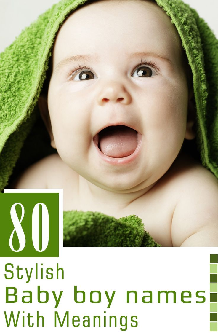 Are you looking for a unique & cute name for your baby? Here we bring you a huge collection of 80 modern yet stylish names for boys to make your search easy