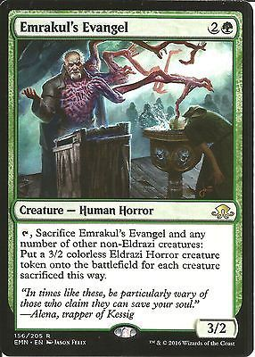 Mtg #emrakul's #evangel - #eldritch moon emn - rare green human,  View more on the LINK: 	http://www.zeppy.io/product/gb/2/172281103758/