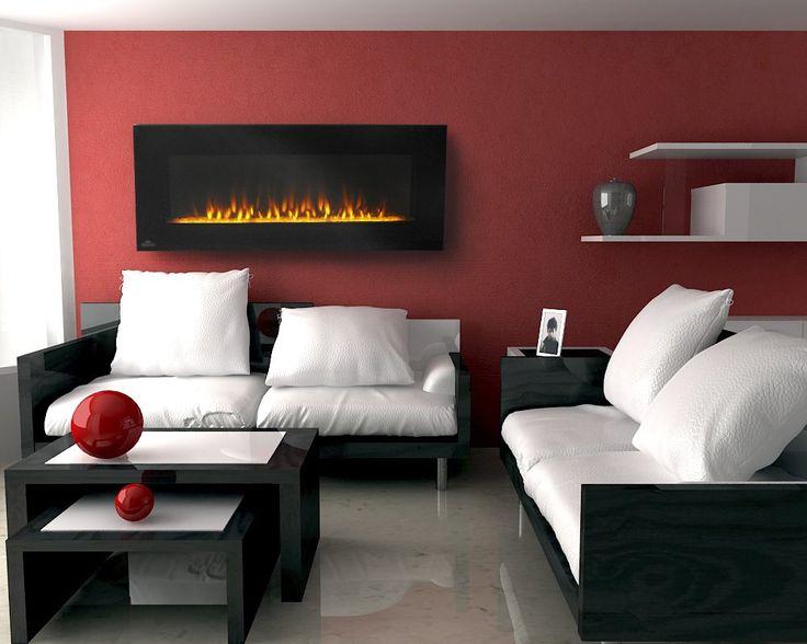 Nice Wall Mount Electric Fireplace   Http://www.kelseyquan.com/. Red Living  RoomsLiving Room ...