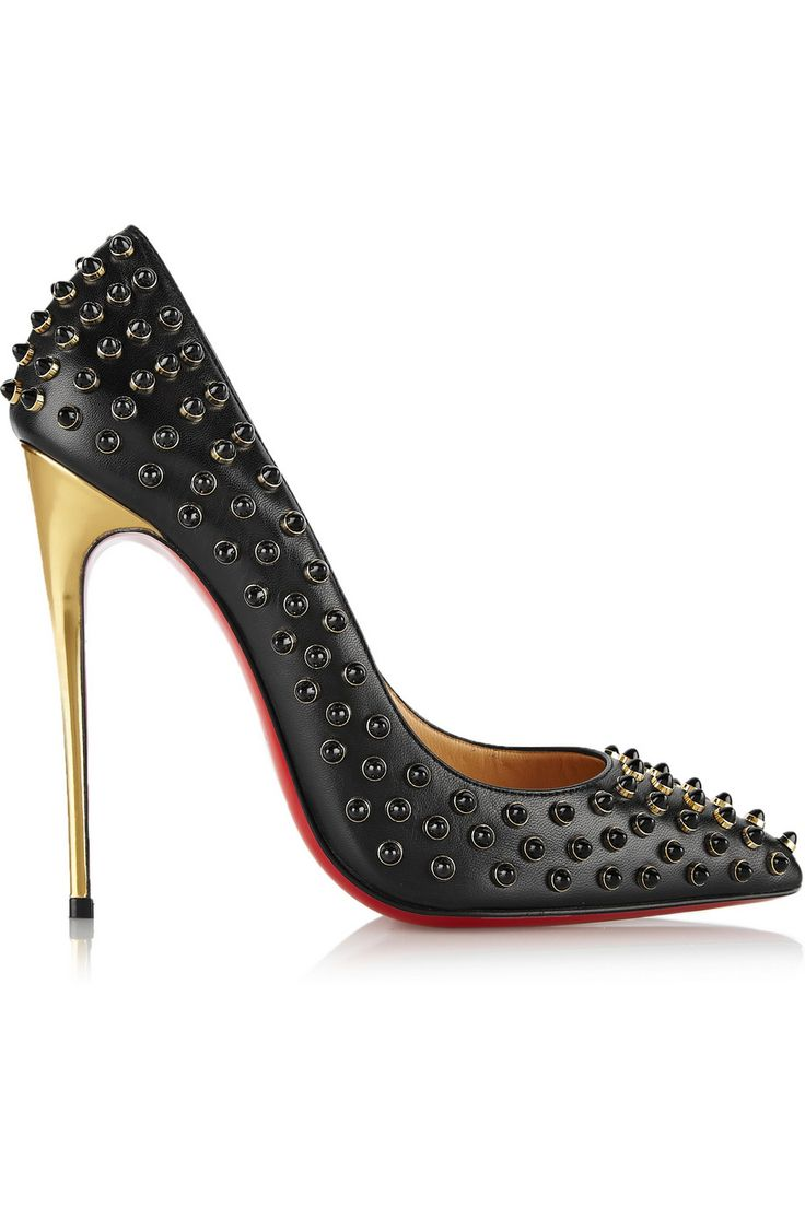best christian louboutin replica sites - Christian Louboutin | Follies Cabo 120 embellished leather pumps ...