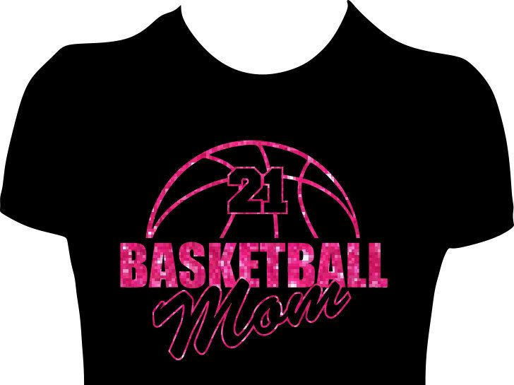 Best  Basketball Mom Shirts Ideas On Pinterest Basketball - Glitter custom vinyl decals for shirts