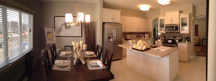 Very cool kitchen design.