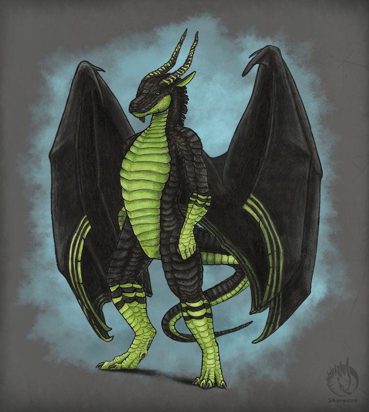 Dragonsired by MargotShareaza.deviantart.com on @DeviantArt