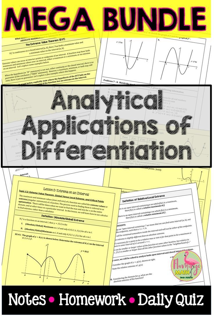 Unit 5 analytic applications of derivativeap calculus answers