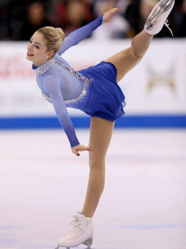 Olympian, Gracie Gold, Figure Skater. We are cheering for you and the other members of Team USA. 02/2014