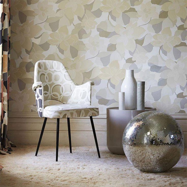 Adarna | Papier peint floral | Motifs du papier peint | Papier peint des années 70