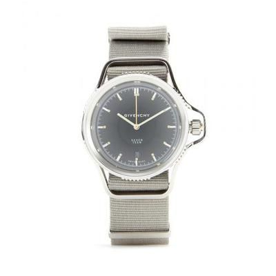 Givenchy - Seventeen stainless steel watch #jewelry #givenchy #covetme