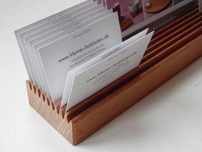 Visitenkarten - Visitenkartenhalter, Kartenhalter,Postkartenhalter - ein Designerstück von Mimmi-Paulin bei DaWanda