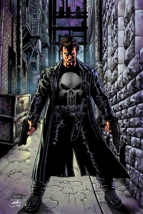 """Punisher: """"Remember my face! It's the last thing you're ever going to see ... and I want you to carry the memory of it straight to HELL!"""""""