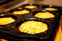 Enkla potatiskakor i ugn
