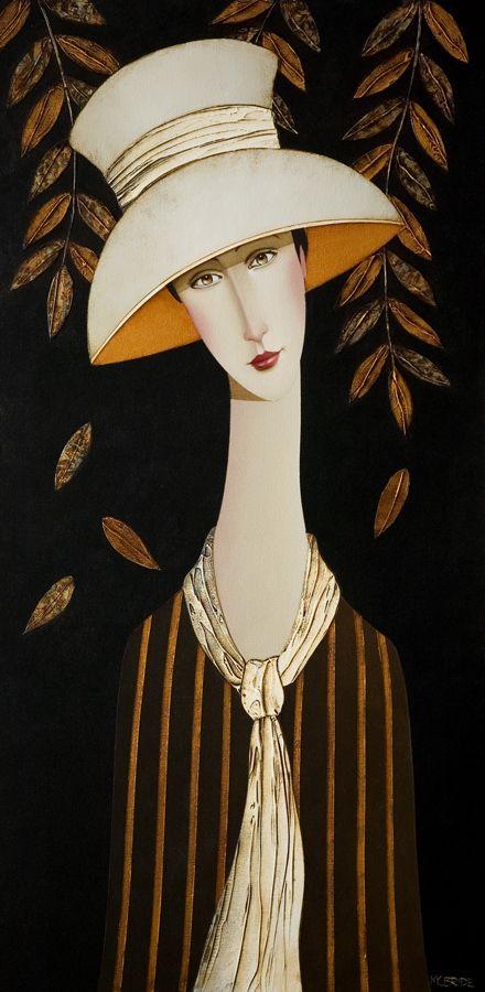 Annette in Autumn, by Danny McBride