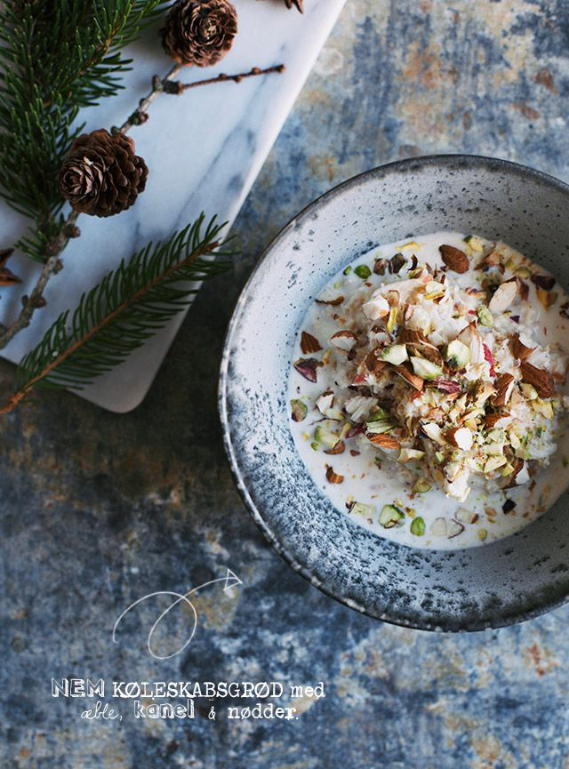 Wistfully Country, Refrigerator Porridge w/Cinnamon & Almonds | The...