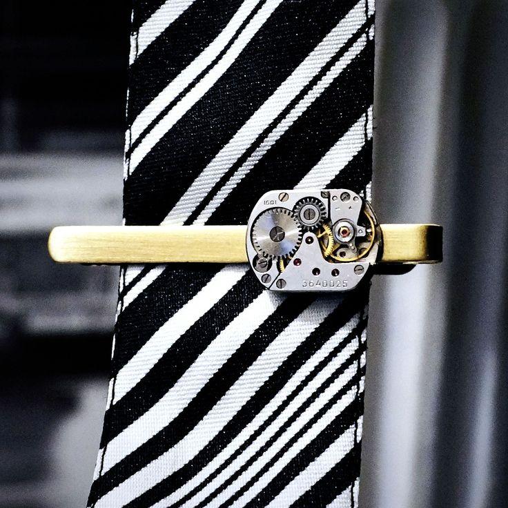 зажим для галстука подарок мужчине мужу доминанту