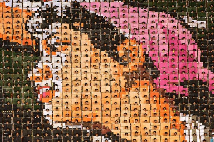 Mass Games Pyongyan 09 © Werner Kranwetvogel, Lumas, www.x6gallery.hu