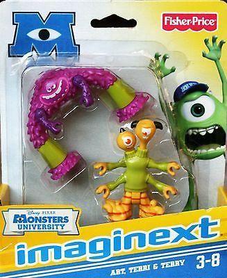 Disney Pixar Monster University Imaginext Art, Terri & Terry
