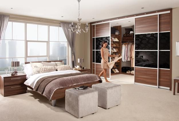 Space Saving Fitted Bedroom Furniture For Storage Creating Compact Interior  Design | Modern Bedroom Furniture, Storage And Bedrooms