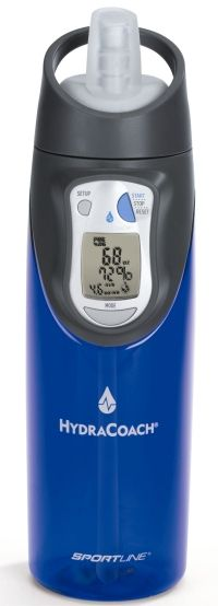 HydraCoach; calculates your need for hydration. Just bought this on Amazon for $20!!