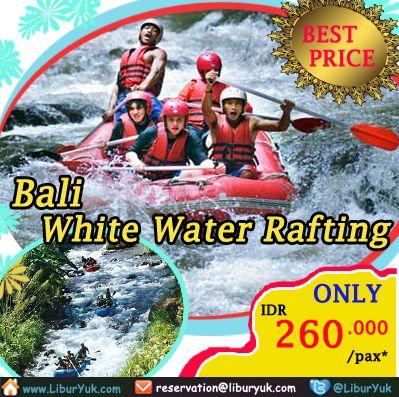 Nikmati yang terbaik dari Bali dengan petualangan arung jeram di spektakuler #Sungai #Ayung - sebuah perjalanan tak terlupakan melalui pemandangan hutan yang subur dan sungai dan ngarai yang dalam yang dipimpin oleh Indonesia top arung jeram profesional.uk booking paket #Bali - #White #Water #Rafting sekarang juga!  Dapatkan Spesial Paket tersebut dari #LiburYuk http://liburyuk.com/bookitem/18/2014-04-16/Bali---White-Water-Rafting #jalan2 #holiday #AbbeyTravel