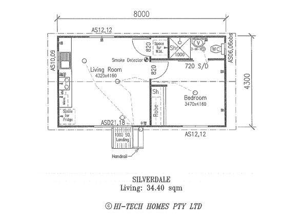 Granny Flat Floor Plans One Bedroom Google Search