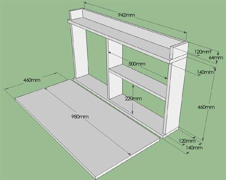 outdoor bar for deck, braai, patio, garden