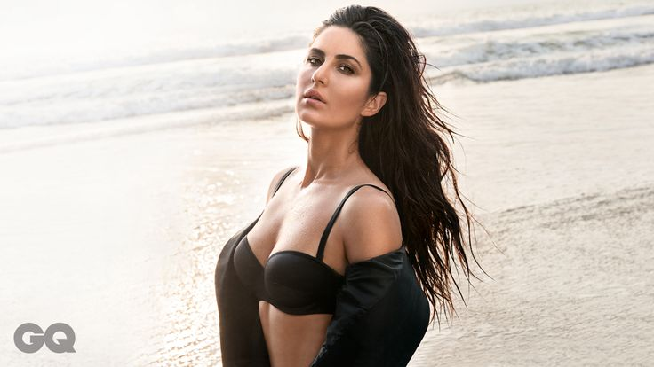 Katrina kaif on cover GQ .