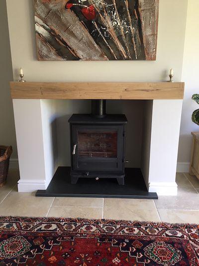 Black Cleft Slate Fireplace : The best slate hearth ideas on pinterest log burner