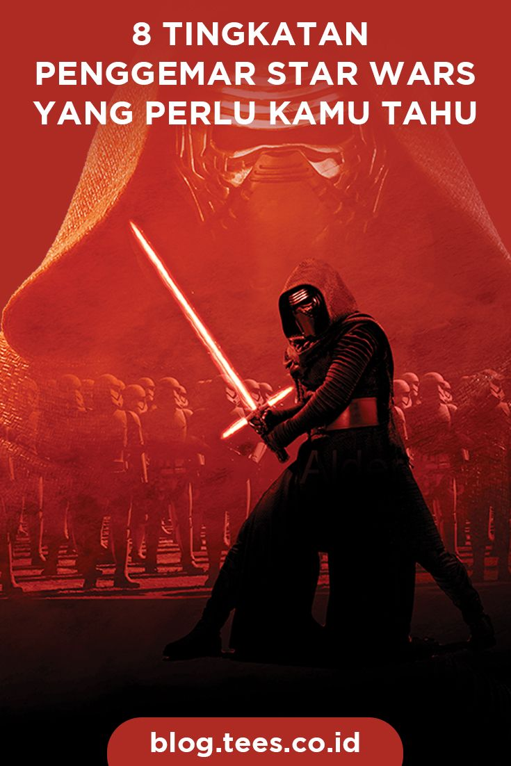Kamu termasuk penggemar Star Wars yang mana? Click http://blog.tees.co.id/8-tingkatan-penggemar-star-wars?utm_source=pinterest-social&utm_medium=post&utm_campaign=artikel #teesblog #starwars