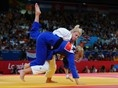 Kayla Harrison became the first American ever to win a gold medal in judo!