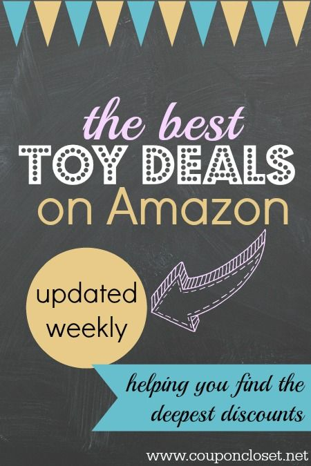 Best toy deals on Amazon are posted each week to help you save the most money. Even better, this post is updated every week. Make sure you bookmark it or pin it for later.