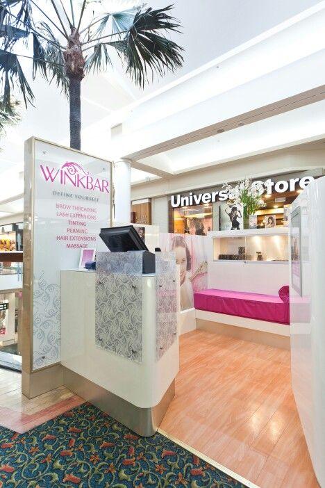 """"""" Winkbar"""" Kiosk by Vizion Shopfitters"""