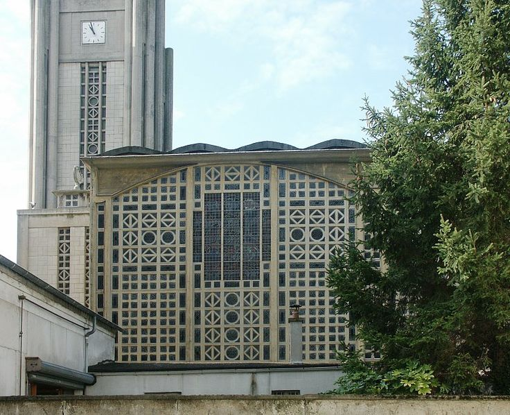 (1922-1923) Notre-Dame du Raincy - Auguste Perret (800×650)