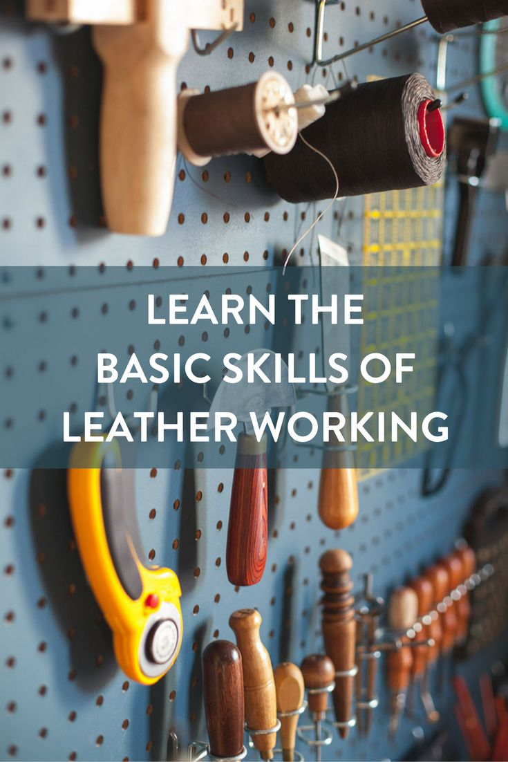 Working with leather need not be intimidating. Like all disciplines of craftsmanship, it's about understanding the material, a little technique, and the right tool for the job.