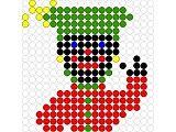 Kralenplank: Sinterklaas