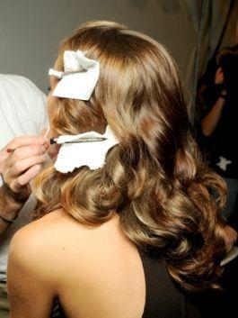1940's curls