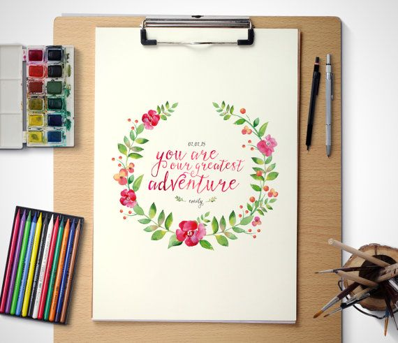 Hey, I found this really awesome Etsy listing at https://www.etsy.com/listing/229561226/printable-art-personalised-watercolour