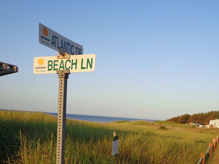 Camping along the North Shore of Prince Edward Island