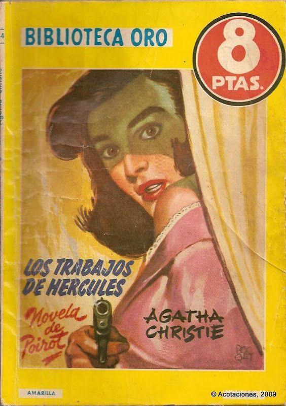 Los Trabajos De Hércules. Molino. Biblioteca Oro (2). 344. 1956