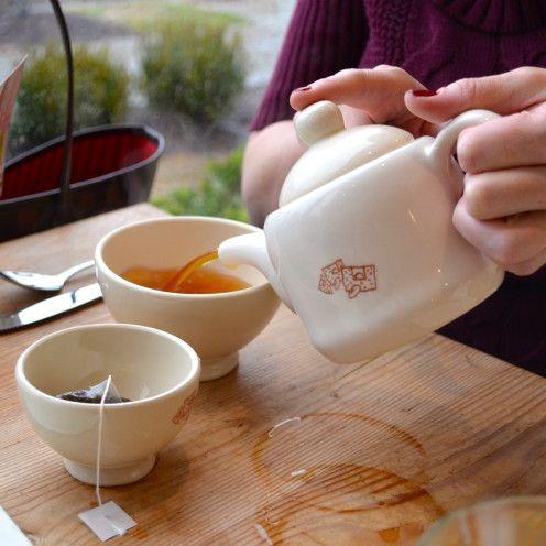 Tea at LE PAIN QUOTIDIEN - THE DAILY BREAD   Washington, DC Location   www.AfterOrangeCounty.com