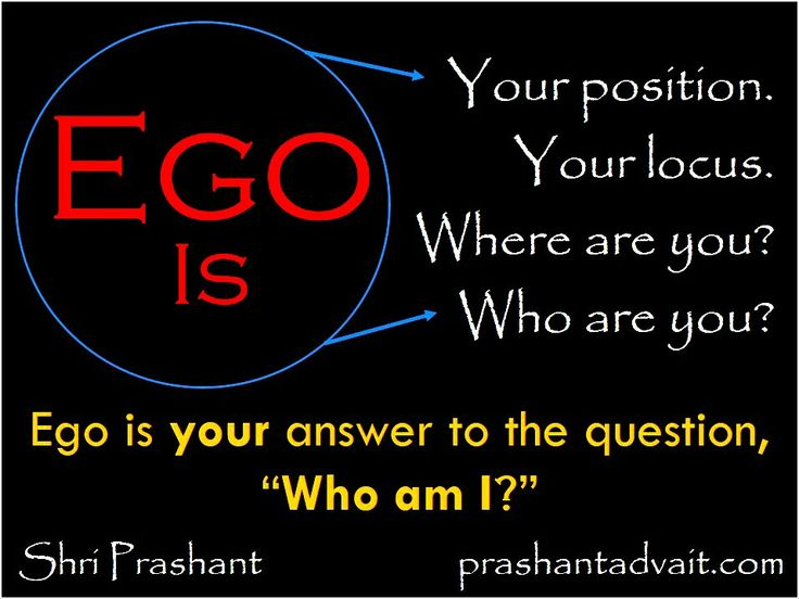 "Ego is your answer to the question, ""Who am I?"" ~ Shri Prashant  #ShriPrashant #Advait #mind #spirituality #ego #identity  Read at:- prashantadvait.com Watch at:-www.youtube.com/c/ShriPrashant Website:-www.advait.org.in Facebook:-www.facebook.com/prashant.advaitLinkedIn:- www.linkedin.com/in/prashantadvait Twitter:-https://twitter.com/Prashant_Advait"