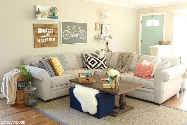 Fresh & Modern Fall Decor | by DIY Playbook
