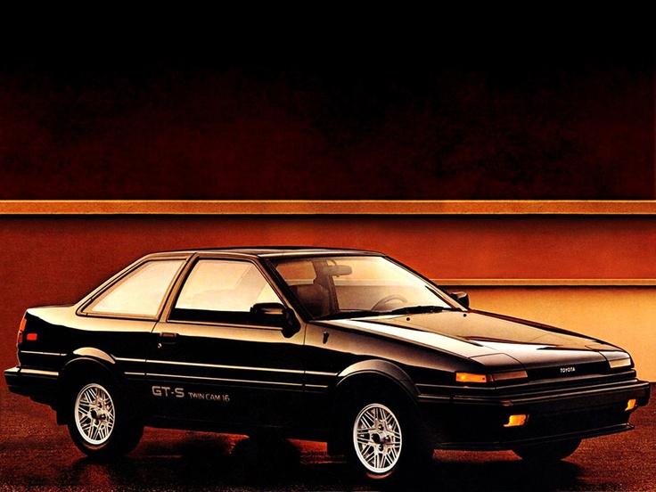 Toyota Corolla - Sexta geração (1987). Confira notícias sobre o mundo automotivo: https://www.consorciodeautomoveis.com.br/informacoes-consorcio-automoveis?utm_source=Pinterest