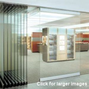 Wallglass 700 movable glass partitions operable movable for Sliding folding partitions movable walls