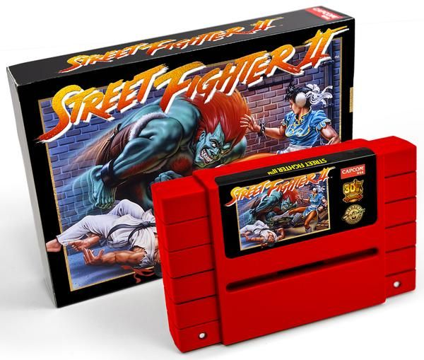Capcom releasing a Limited 30th Anniversary Edition Street Fighter 2 SNES cartridge