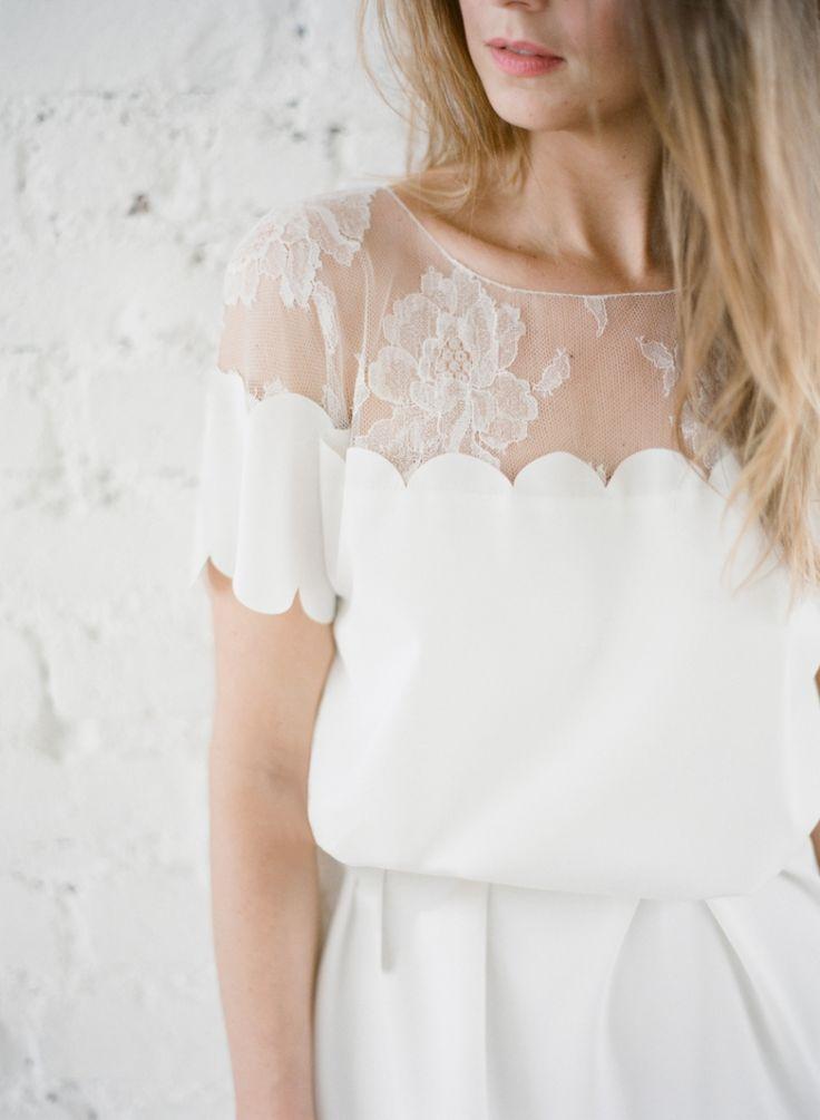 Rime Arodaky robe de mariée mariage civil - La Fiancée du Panda blog Mariage et Lifestyle