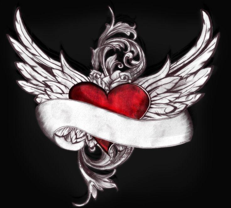картинки сердце с крыльями что футболисты